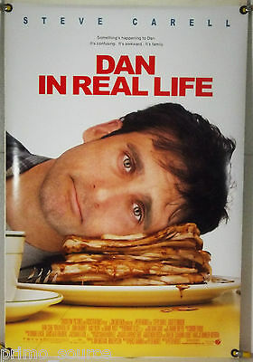 DAN IN REAL LIFE DS ROLLED ORIG 1SH MOVIE POSTER STEVE CARELL EMILY BLUNT (2007)