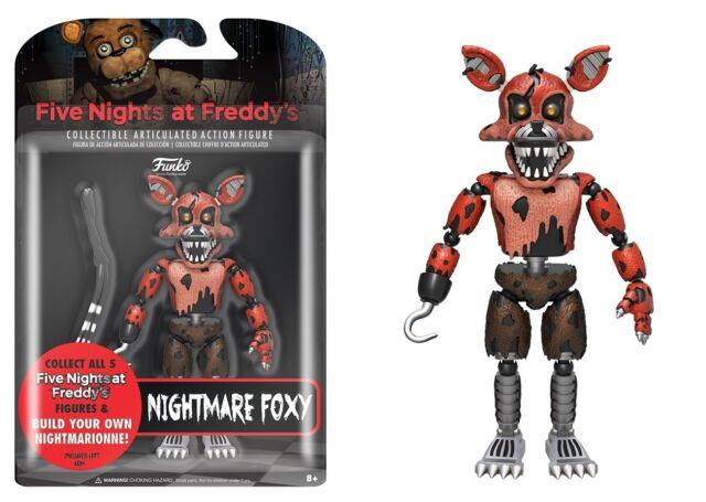 New 2017 Five Nights At Freddy's NIGHTMARE FOXY 5