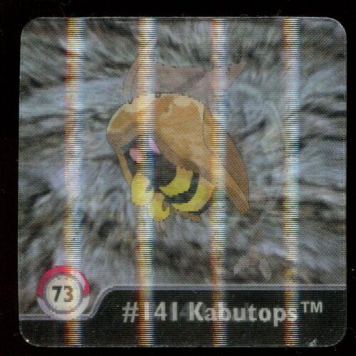 SERIE ONE 3D FLIPZ POKEMON N° 73 #140 141 KABUTOPS KABUTO