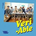 K-pop Verivery 2nd Mini Album Veri-able 2ver Set CD Booklet Card Contact Sheet