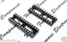 1pcs - 24-Pin IC Socket DIP High Quality 30x10mm