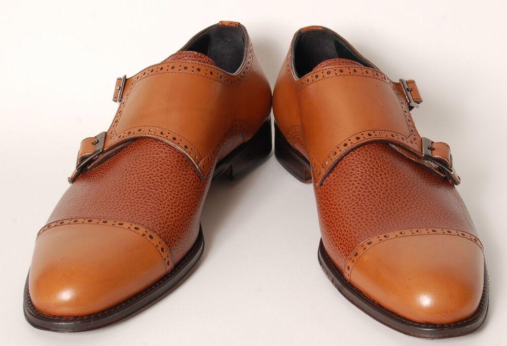 Acc Fait A La Main Italien Chaussures Élégant Doppel-monkstrap 88