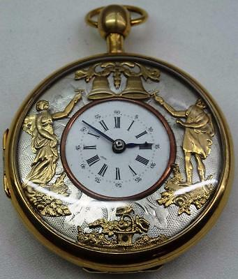 WOW! MUSEUM Chinese Qing Dynasty Automaton Repeater Verge&Fusee Enamel watch