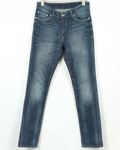 Levis-510-Slim-Jeans-senza-Acqua-Elasticizzato-con-Elastan-Uomo-Misura-W32-L32