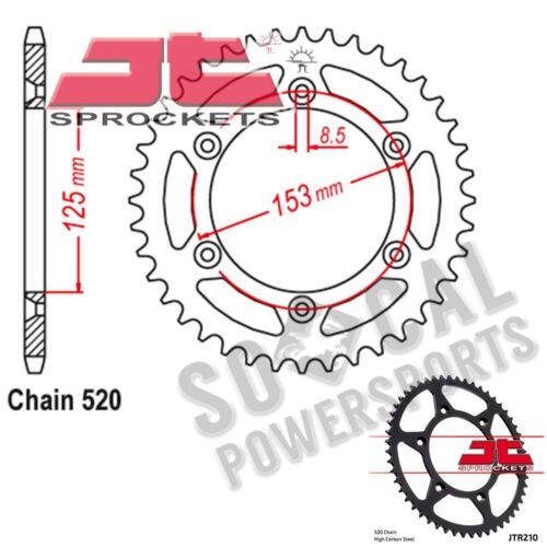 2003-2018 JT Sprockets Steel Rear Sprocket 520 Pitch 46 Tooth Honda CRF150F