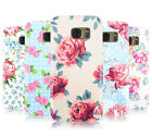 SHABBY CHIC FLORAL FLOWERS HARD COVER CASE FOR MOBILE PHONES SAMSUNG GALAXY S7