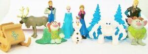 FROZEN-Figure-Play-Set-Disney-PVC-TOY-Birthday-Party-Favor-MARSHMELLOW-Elsa-OLAF