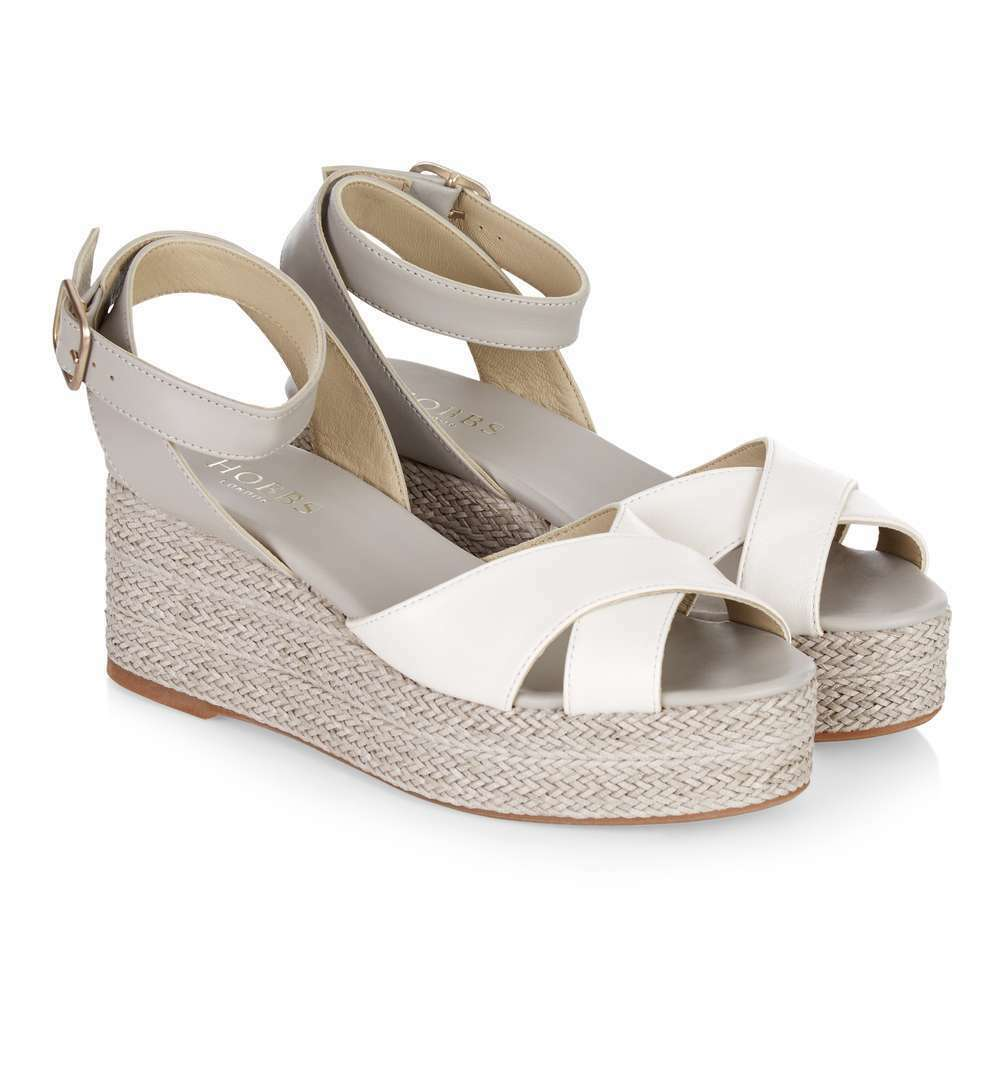 Hobbs Iris Crougever Plate-Forme Mastic Multi chaussures. diverses Tailles.
