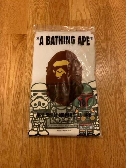 a bathing ape Bape x Star Wars Baby Milo Carbonite Tee Black