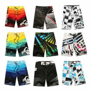 Men-039-s-Surf-Board-Shorts-Summer-Beach-Shorts-Pants-Swiming-Trunks-Swimsuit-30-38