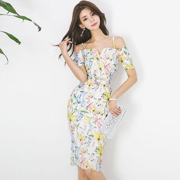 7ea8857df5cb Elegante vestito abito corto tubino bianco coloreato lungo morbido 4384 slim  nrwhss8367-Vestiti