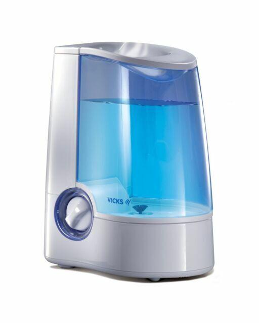 Vicks Warm Mist Humidifier, 1 Gallon, Auto Shut Off, Filter