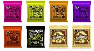 ERNIE-BALL-3-series-Paquet-de-Slinky-et-Earthwood-CORDES-pour-guitare-acoustique