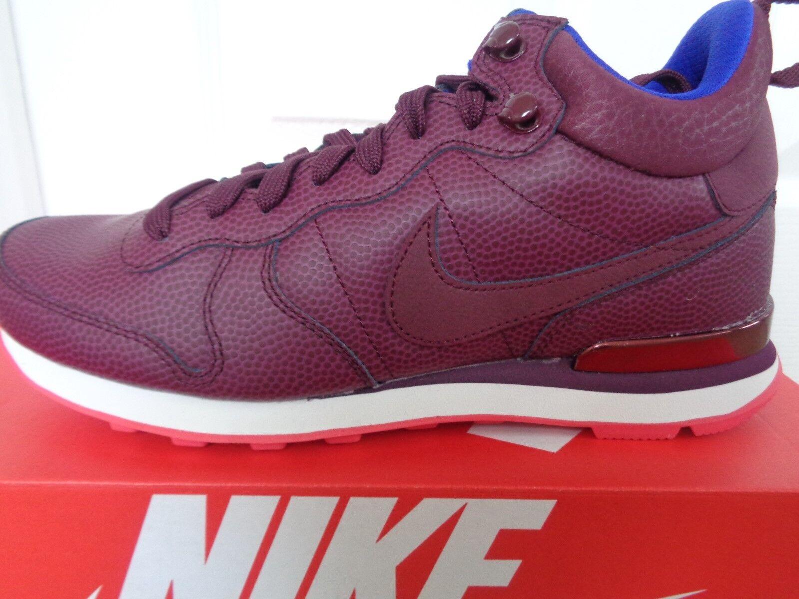 Nike Internazionalista Mid Lthr Scarpe da ginnastica da donna 859549 EU 38 US 7 Nuovo + Scatola