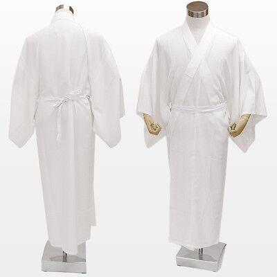 Japanese Men's Kimono JYUBAN WHITE LL