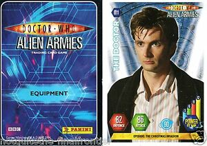 Doctor Who Alien Armies Standard Cards