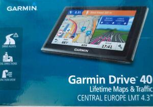 Garmin DRIVE 40 LMT CE 22 Länder Z. Europa lebenslange Kartenupdates Premium TMC