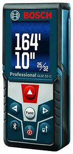 Bosch Bluetooth Enabled Laser Distance Measure with Colour Backlit Display GLM 5