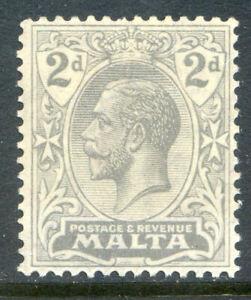 Malta-1921-2-KG-5th-2d-grey-an-unmounted-mint-single-2019-05-31-08