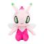 Pokemon Plush doll  Shiny Celebi limited Pokemon center Japan polyester pink