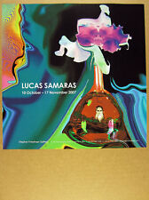 2007 Lucas Samaras photo Stephen Friedman Gallery exhibition promo print Ad