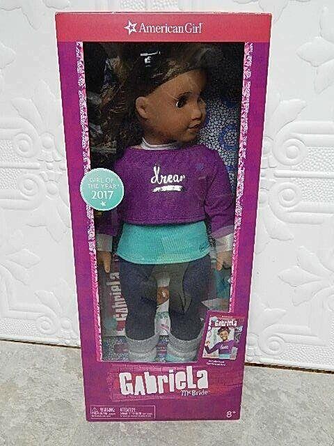 NEW American Girl Gabriela McBride Girl of Year Doll 2017 Ships Internationally