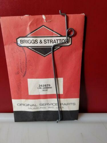 OEM Packaging NEW Briggs /& Stratton Governor Link 262579 BG2//BG691