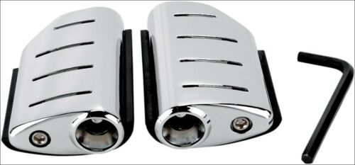 Kuryakyn 7597 Chrome Trident Dually ISO-Pegs without Adapters Universal Fitment
