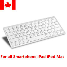 Slim Bluetooth Wireless Keyboard for iPad iPhone Samsung iPod Mackbook Mac iMac