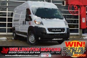 2019 Ram ProMaster Cargo Van 2500 | 159 Inch High | Heated Driver Seat !!