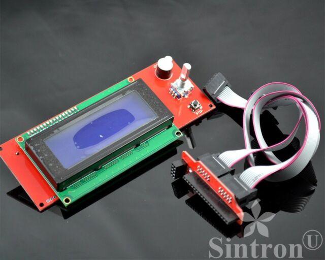 LCD 2004 Smart Display Controller ,Adapter for 3D Printer RAMPS 1.4 Prusa Mendel