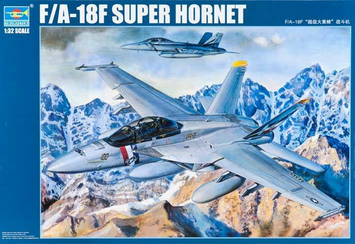 Trumpeter 1 32 03205 F A-18F Super Hornet