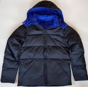 Boden-Mens-Reversible-Down-Puffer-Jacket-Coat-BLACK-BLUE-XS-M-L-XL-XXL