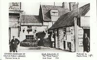 "London Postcard - Old Ealing 11 - The ""Three Pigeons"" - High Street 1904  V729"