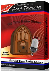 Paul-Temple-The-Adventures-of-105-Old-Time-Radio-Episodes-IMMEDIATE-DOWNLOAD