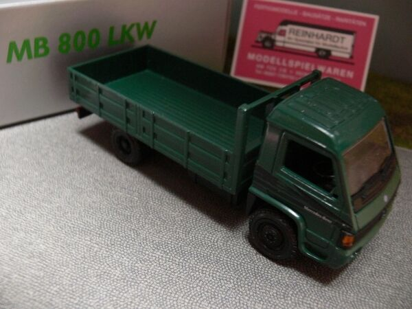1 43 NZG MB 800 Pritschen Lkw grün No.445 Made in Germany