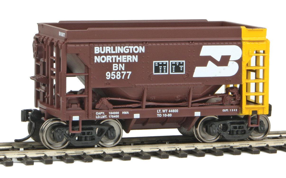 Escala H0 - Set Ore Coche Burlington Northern 4 Vagón - 58053 Neu
