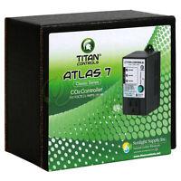 Titan Controls Atlas 7 Classic Series Co2 Controller 1000, 1250, 1500 Ppm