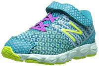 Balance Girls' Kv890shi Hook-and-loop Running Shoes, Size Us 7 M, Eur 23.5