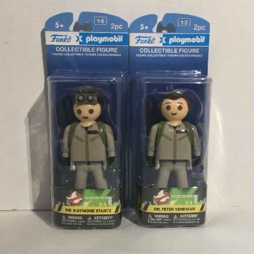 Funko Playmobil Collectible Figures - Ghostbusters Ghostbusters Ghostbusters - SET OF 2 (Venkman & Stantz) bbe389