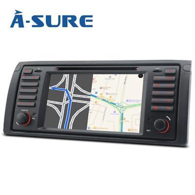 """Android 7"""" BMW 5er E39 X5 E53 M5 Autoradio CD DVD GPS Navigation USB SD DAB+ BT"""