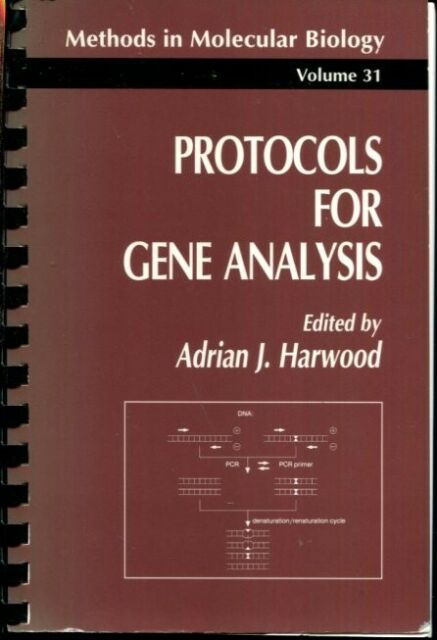 Protocols for Gene Analysis (Methods in Molecular Biology (31))