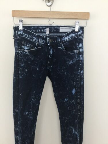 Rag 25 Taglia In Jeans Wash Acid Bone Skinny pwprx