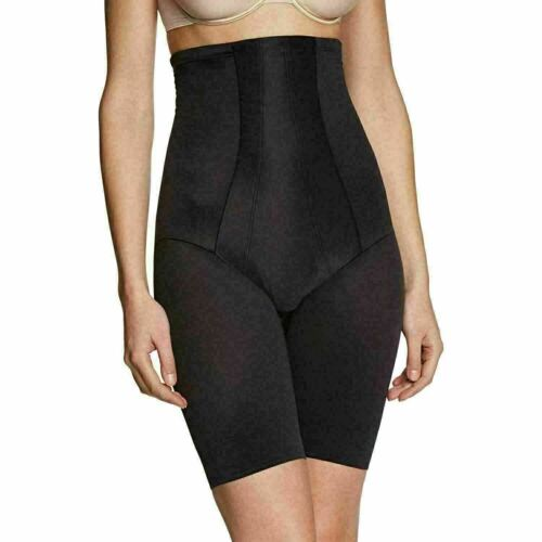 Miraclesuit Women/'s Classic High Waist Plain Thigh Slimmer Black or Nude