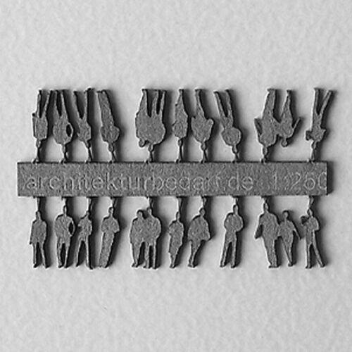 Figuras 1:250 gris de cartón láser 20 trozo