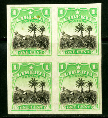 Liberia Briefmarken #115 Imp Block Of 4 Xf Og Nh Selten Persistierenden 4 Noch Nicht VulgäR