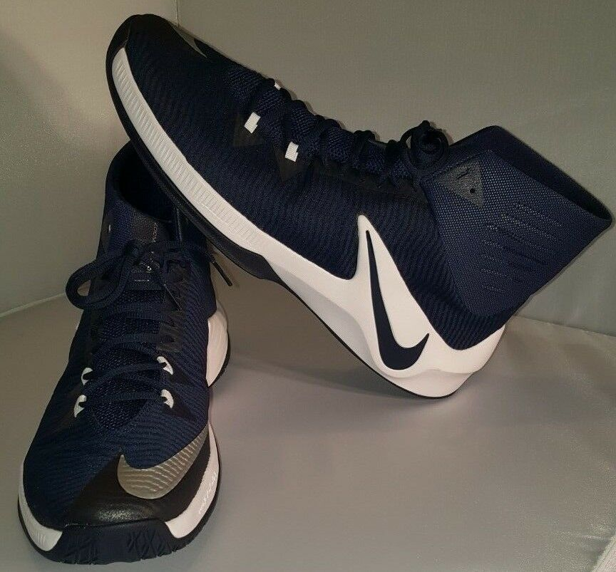 Nike Zoom Clear Out TB Basketball  Size 17  Navy bluee  856486-442  Never Used
