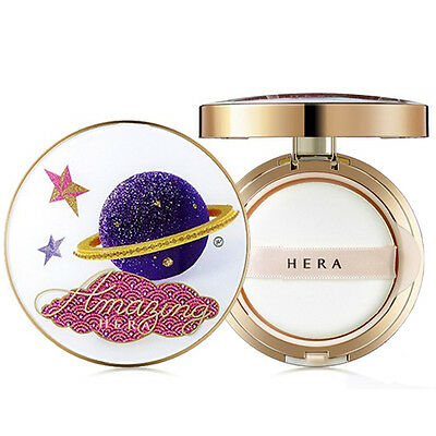 HERA HUGO & VICTOR UV Mist Cushion 15g + With Refill 15g / Limited Edition 2017