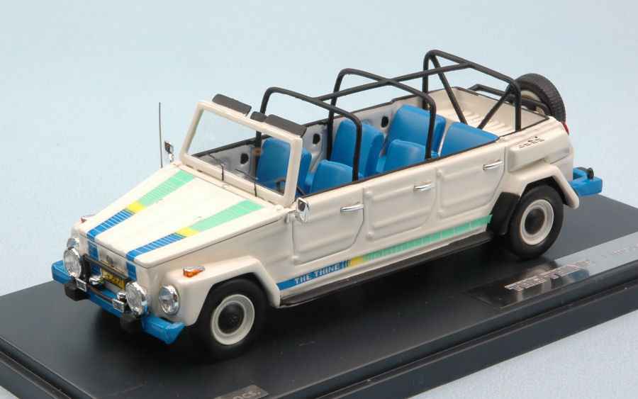 Volkswagen VW Thing Limousine 1979 Pescaccia White Limited 400 Pcs 1:43 Model | Outlet Store