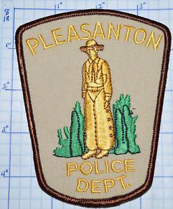 Details about TEXAS, PLEASANTON POLICE DEPT PATCH